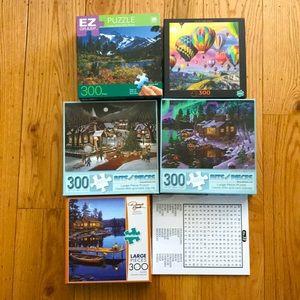 Senior/child puzzle set! Great for dementia!